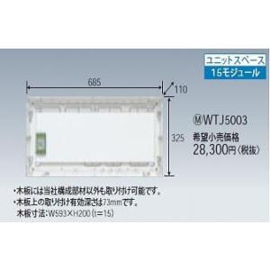 パナ マルチメディア ポート用ボックスセット WTJ5003 n-denservice