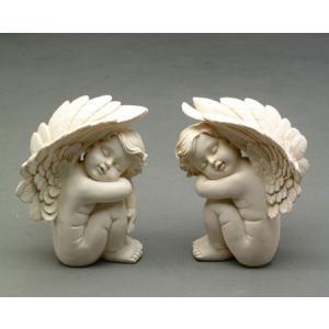 【ガーデニング】 プリティ-エンジェルA,B 【天使の置物】|n-garden