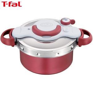 T-fal ティファール 圧力鍋 クリプソ ミニット デュオ レッド IH対応 4.2L 2~4人用 P4604236|n-kitchen