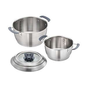T-fal 深型 両手鍋 2点セット オベーション 20/24cm IH対応 C815J2 ティファール n-kitchen