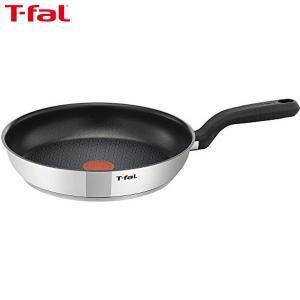 T-fal(ティファール) コンフォートマックス IHステンレスフライパン 24cm C99404|n-kitchen