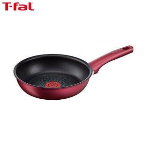 T-fal(ティファール) フライパン 21cm IH対応 IHルビー・エクセレンス フライパン チタン エクセレンス 6層コーティング 取っ手つき C62202|n-kitchen
