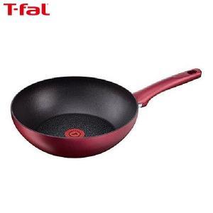 T-fal (ティファール) IH ルビー・エクセレンス ウォックパン 28cm C62219|n-kitchen