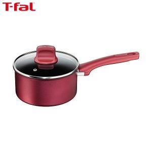 T-fal(ティファール) 片手鍋 18cm IH対応 IHルビー・エクセレンス ソースパン チタン エクストラ 4層コーティング 取っ手つき C62223|n-kitchen