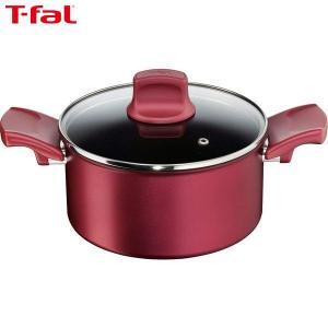 T-fal ティファール 両手鍋 IHルビー・エクセレンス シチューパン IH対応 20cm C62244 n-kitchen