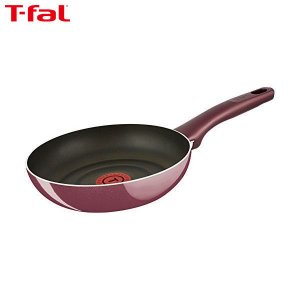 T-fal(ティファール) フライパン 20cm ガス火専用 サンライズ プレミア フライパン チタン プレミア 5層コーティング 取っ手つき IH非対応 D55302|n-kitchen