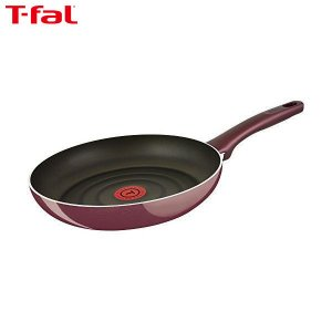 T-fal(ティファール) フライパン 28cm ガス火専用 サンライズ プレミア フライパン チタン プレミア 5層コーティング 取っ手つき IH非対応 D55306|n-kitchen