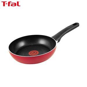 T-fal(ティファール) フライパン 20cm ガス火専用 フェアリーローズ フライパン パワーグライド 4層コーティング 取っ手つき IH非対応 C50002|n-kitchen