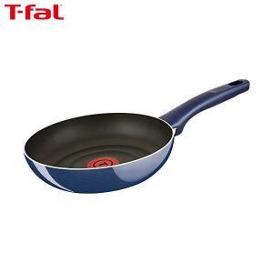T-fal(ティファール) フライパン 20cm ガス火専用 グランブルー プレミア フライパン チタン プレミア 5層コーティング 取っ手つき IH非対応 D55102|n-kitchen