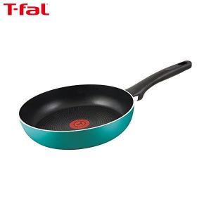 T-fal(ティファール) フライパン 25cm ガス火専用 ラグーン フライパン パワーグライド 4層コーティング 取っ手つき T-fal IH非対応 C50105|n-kitchen