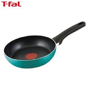 T-fal(ティファール) フライパン 20cm ガス火専用 ラグーン フライパン パワーグライド 4層コーティング 取っ手つき T-fal IH非対応 C50102|n-kitchen