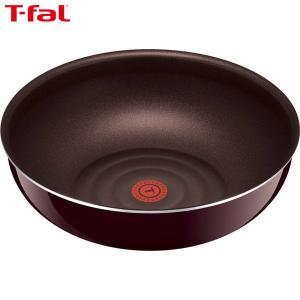 T-fal(ティファール) インジニオ・ネオ マホガニー・プレミア ウォックパン 28cm L63119|n-kitchen