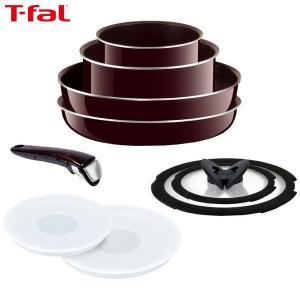 T-fal(ティファール) インジニオ・ネオ マホガニー・プレミア セット9 L63191|n-kitchen