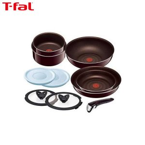 T-fal(ティファール) インジニオ・ネオ マホガニー・プレミア セット10 L63192|n-kitchen