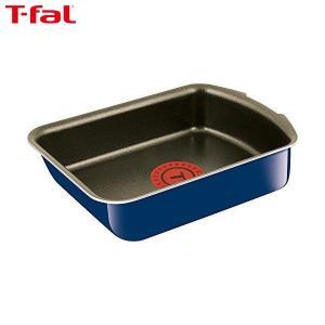 T-fal ティファール 卵焼き フライパン ガス火専用 インジニオ・ネオ グランブルー・プレミア エッグロースター チタン 4層コーティング 取っ手 IH非対応 L61418|n-kitchen