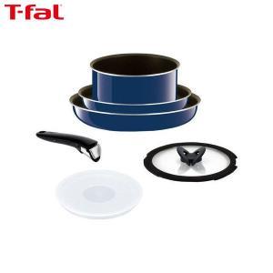T-fal (ティファール) 鍋 フライパン 6点セット インジニオ・ネオ グランブルー・プレミア L61490 n-kitchen