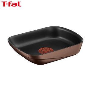 T-fal(ティファール) 卵焼き フライパン IH対応 インジニオ・ネオ IHキャストラインN エッグロースター チタン 5層コーティング 取っ手のとれる L85418|n-kitchen