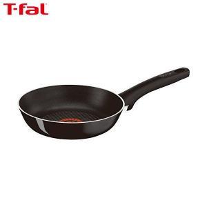 T-fal(ティファール) フライパン 20cm ガス火専用 ハードチタニウム・プラス フライパン チタン 5層コーティング 取っ手つき IH非対応 D51502|n-kitchen