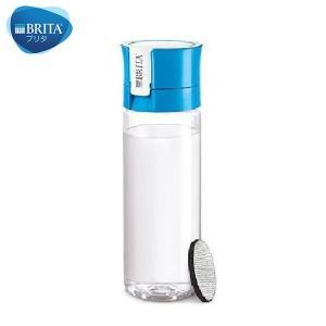 BRITA(ブリタ) 水筒 直飲ミ 600mL カートリッジ 1個付キ フィル&ゴー ブルー|n-kitchen