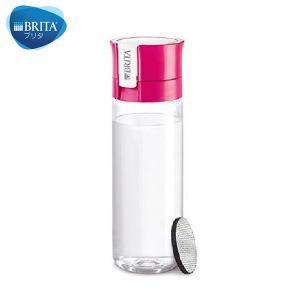 BRITA(ブリタ) 水筒 直飲ミ 600mL カートリッジ 1個付キ フィル&ゴー ピンク|n-kitchen