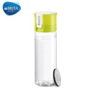 BRITA(ブリタ) 水筒 直飲ミ 600mL カートリッジ 1個付キ フィル&ゴー ライム|n-kitchen