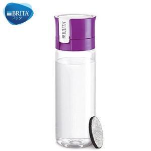 BRITA(ブリタ) 水筒 直飲ミ 600mL カートリッジ 1個付キ フィル&ゴー パープル|n-kitchen