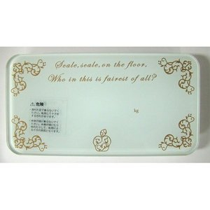 魔女の体重計 ホワイト BH-2404|n-kitchen