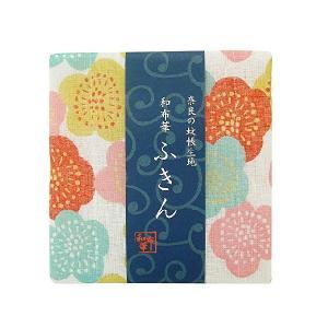 和布華 奈良の蚊帳生地 ふきん 花梅 TYF-856 プレーリードッグ n-kitchen