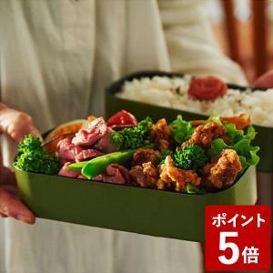 パーカーファームテーブル 2段ランチボックス スクエア 1000mL カーキ PT-005 PFT 藤栄 n-kitchen