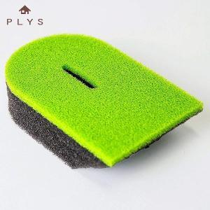 プリスベイス ななめカットスポンジ グリーン オカ PLYS base epi 緑 プリスベース ベース|n-kitchen