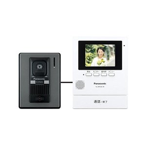 Panasonic(パナソニック) テレビドアホン 電源コード式 ホワイト VL-SV26KL-W|n-kitchen