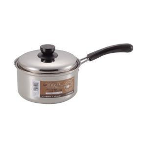 NEWノヴェル ステンレス片手鍋 16cm HB0114 パール金属|n-kitchen