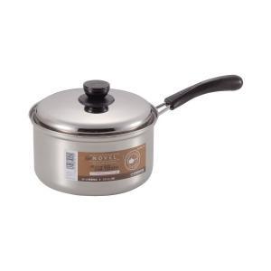 NEWノヴェル ステンレス片手鍋 18cm HB0115 パール金属|n-kitchen