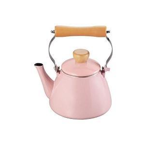 ホーローケットル 1.4L ピンク アミィ HB0798 パール金属 n-kitchen