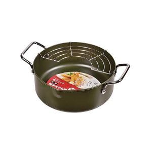 揚げクック 鉄製両手天ぷら鍋 20cm HB1371 パール金属|n-kitchen