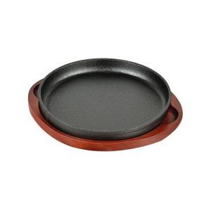 ステーキ 皿 丸型20cm 鉄鋳物製 スプラウト HB-3056 パール金属 n-kitchen