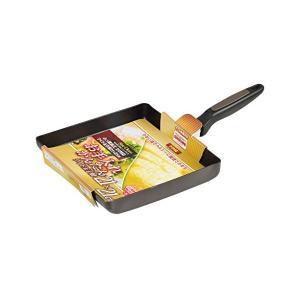 ニューチャコ ふっ素加工IH対応 ワイド玉子焼 21×21cm HB-3383 パール金属|n-kitchen