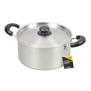 サティーナ 両手鍋 IH対応 目盛付 ステンレス製 22cm HB-3630 パール金属 n-kitchen