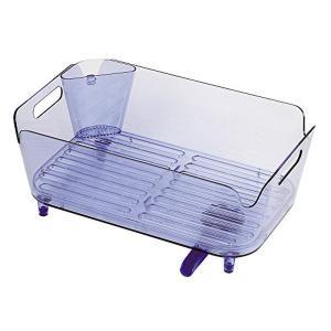 アクリア 水切りバスケットセット ブルー HB-3788|n-kitchen