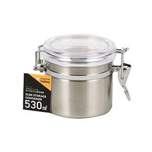 サティーナ  ロック式 保存容器 530ml 18-8 ステンレス製 HB-3796|n-kitchen