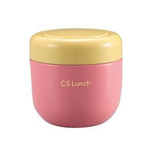 スープ ジャー 300ml ピンク 保温 保冷 フードポット CS ランチ UE-3357 パール金属|n-kitchen