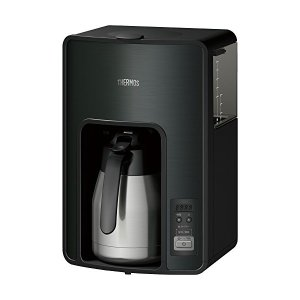 THERMOS(サーモス) 真空断熱ポットコーヒーメーカー 1.0L ブラック タイマーで前日予約が可能 ECH-1001-BK|n-kitchen