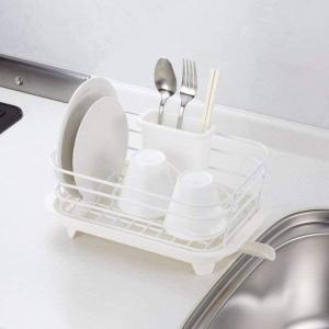 食器 水切り かご ミニ ホワイト Style+2 LC-725 パール金属|n-kitchen