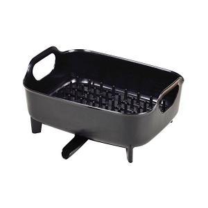 食器 水切り かご ブラック Style+2 LC-773 パール金属|n-kitchen
