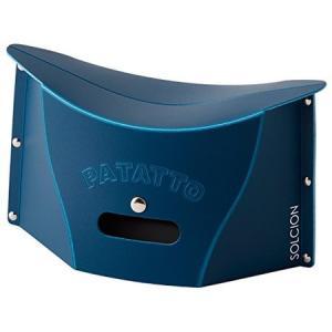 SOLCION 折りたたみ椅子 パタット ミニ(PATATTO mini) ネイビー PM003|n-kitchen