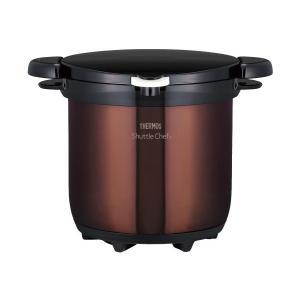THERMOS(サーモス) 真空保温調理器 シャトルシェフ 4.5L クリアブラウン KBG-4500|n-kitchen