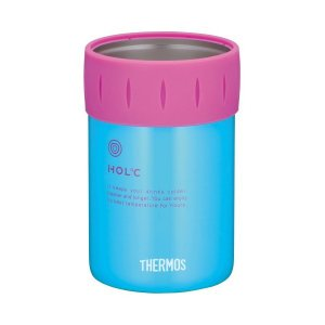 THERMOS(サーモス) 保冷缶ホルダー ブルー JCB-351BL n-kitchen
