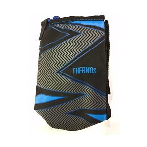 THERMOS(サーモス) 真空断熱2ウェイボトル ハンディポーチ ストラップ イナズマブラック FFR-804WF n-kitchen