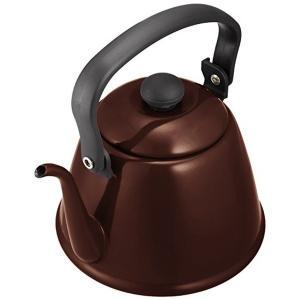 カリタ 細口コーヒーケトル 2L ブラウン ホーロー製 52105 Kalita|n-kitchen