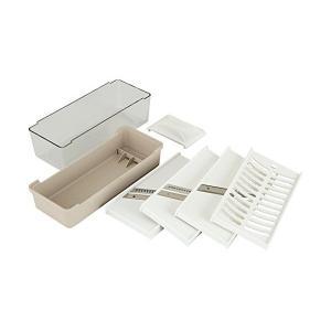 調理器セット ( 千切り ・ ツマ 切り ・ スライス ・ おろし ) Kai House Select DH-7076 貝印(KAI)|n-kitchen